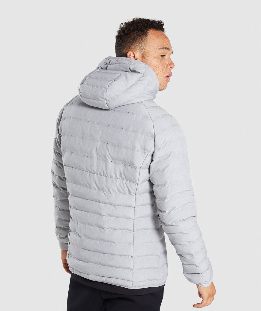 Gymshark Sector Jacket V2 - Light Grey 2