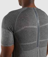 Gymshark Shadow X Seamless T-Shirt - Charcoal Marl 11