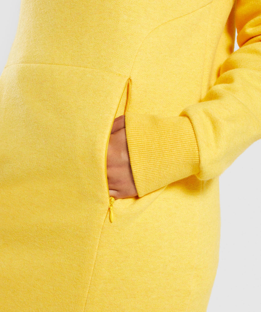Gymshark So Soft Sweater - Citrus Yellow Marl 6