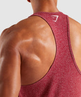 Gymshark Statement Stringer - Red Marl 12