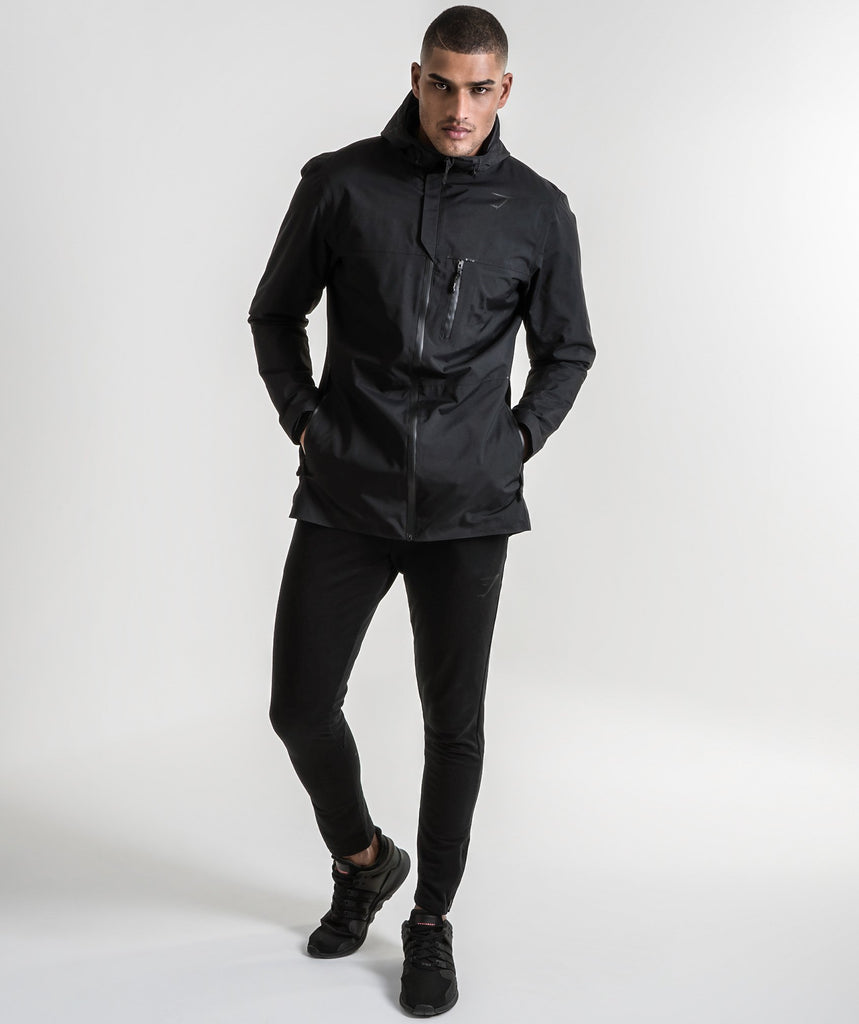 Gymshark Storm Waterproof Parka - Black 1