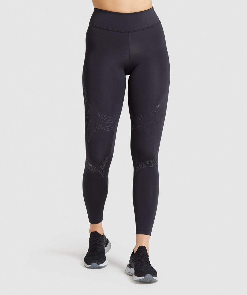 Gymshark Technical Leggings - Black 1