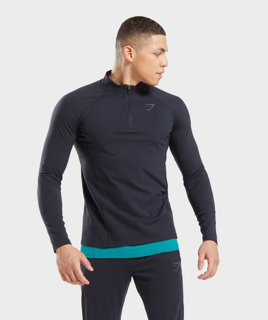 Gymshark Training 1/4 Zip Pullover - Black 1