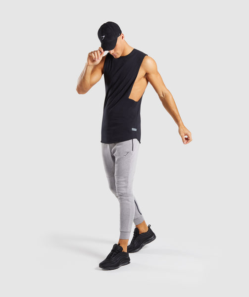 Gymshark Take Over Bottoms - Light Grey Marl 3