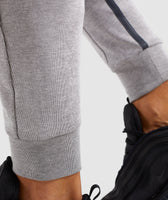 Gymshark Take Over Bottoms - Light Grey Marl 12