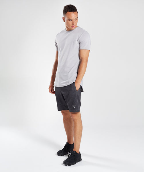 Gymshark Take Over Shorts - Black Marl 3