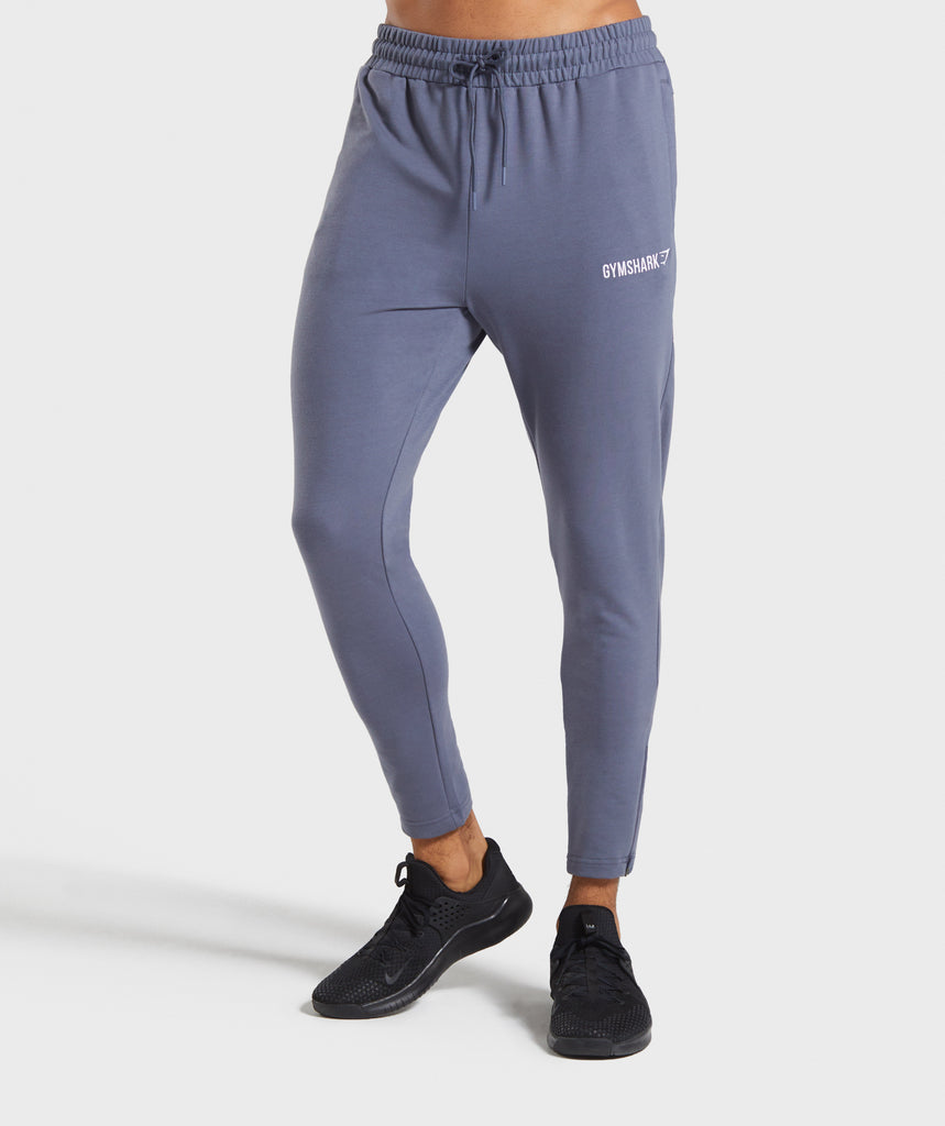 Gymshark Tapered Bottoms - Aegean Blue 1