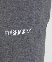 Gymshark Tapered Bottoms - Charcoal Marl 11