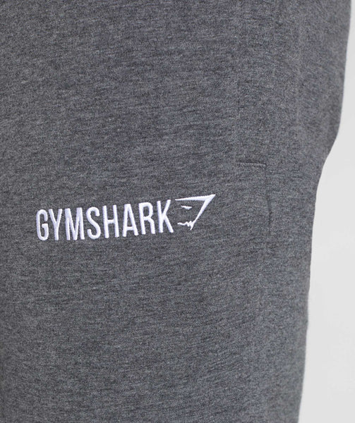 Gymshark Tapered Bottoms - Charcoal Marl 4