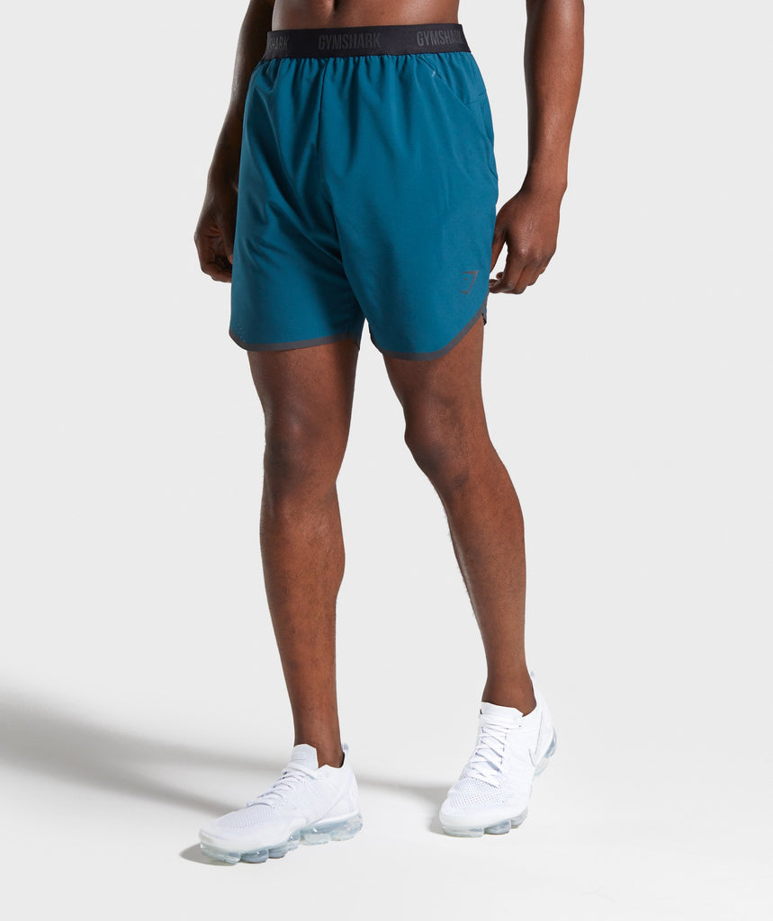 Gymshark Tech Shorts - Deep Teal 1