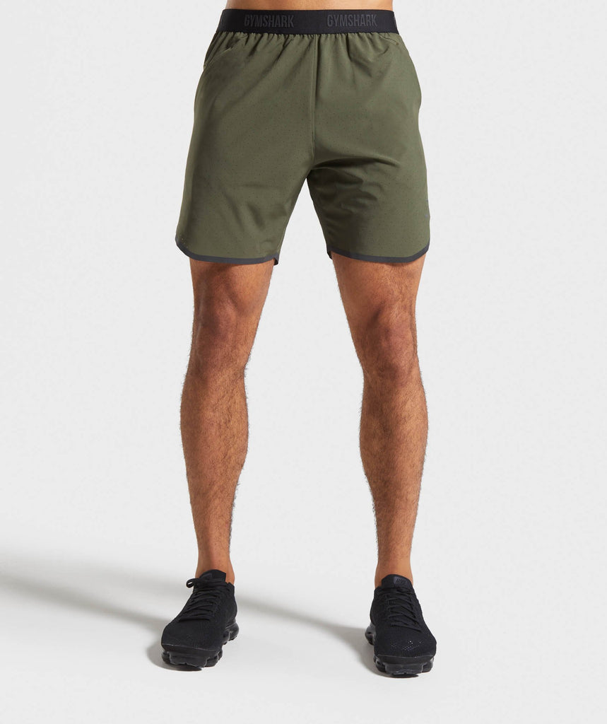 Gymshark Tech Shorts - Green 1