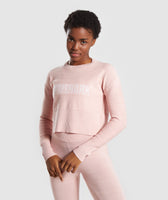 Gymshark Time Out Knit Sweater - Blush Nude 7