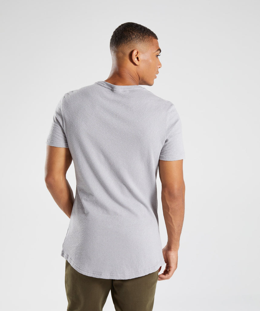Gymshark Unwind T-Shirt - Light Grey 2