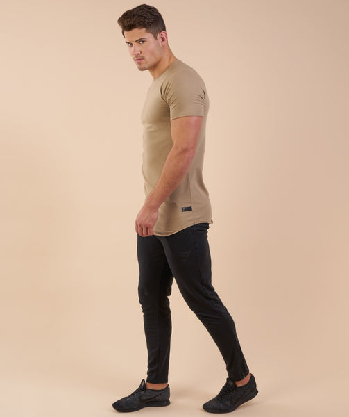 Gymshark Eaze T-Shirt - Coffee 4