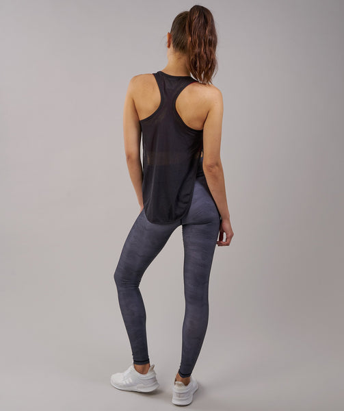 Gymshark Geometric Leggings - Charcoal