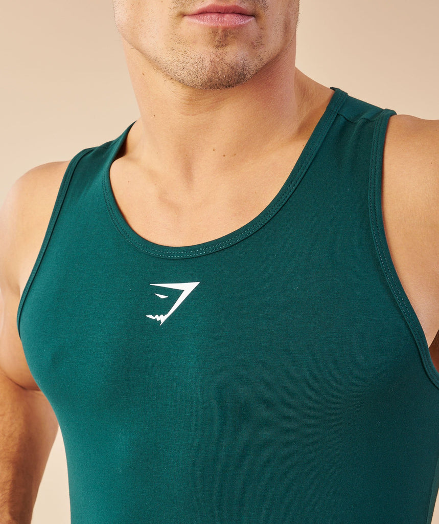 Gymshark Ion Tank - Forest Green 5