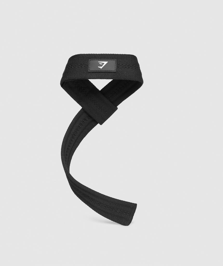 Gymshark Padded Lifting Straps - Black 2