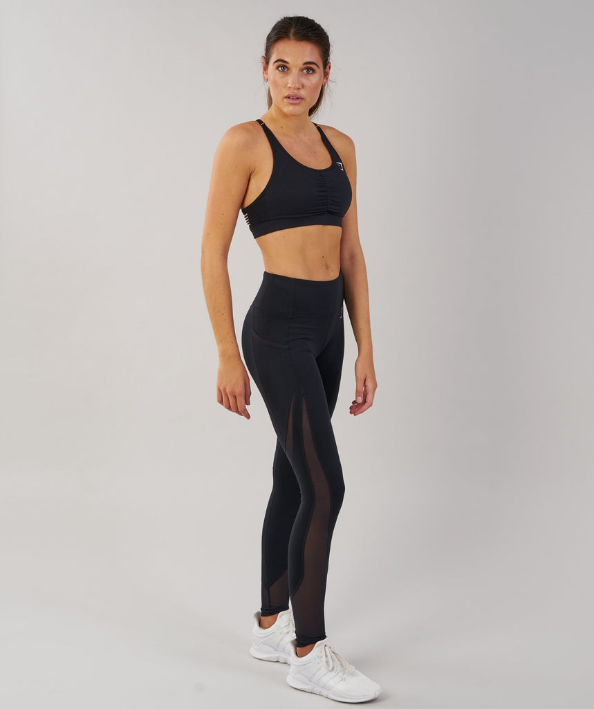 Gymshark Sleek Sculpture Leggings - Black 1