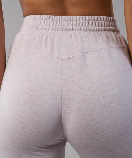 Gymshark Solace Bottoms - Chalk Pink Marl 4