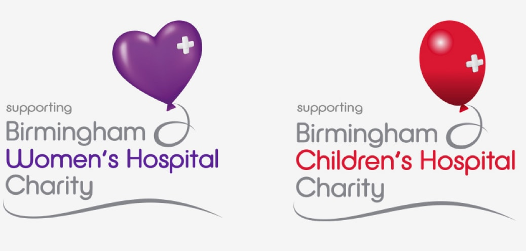 Birmingham NHS Children's & Women's Hospital Trust logos