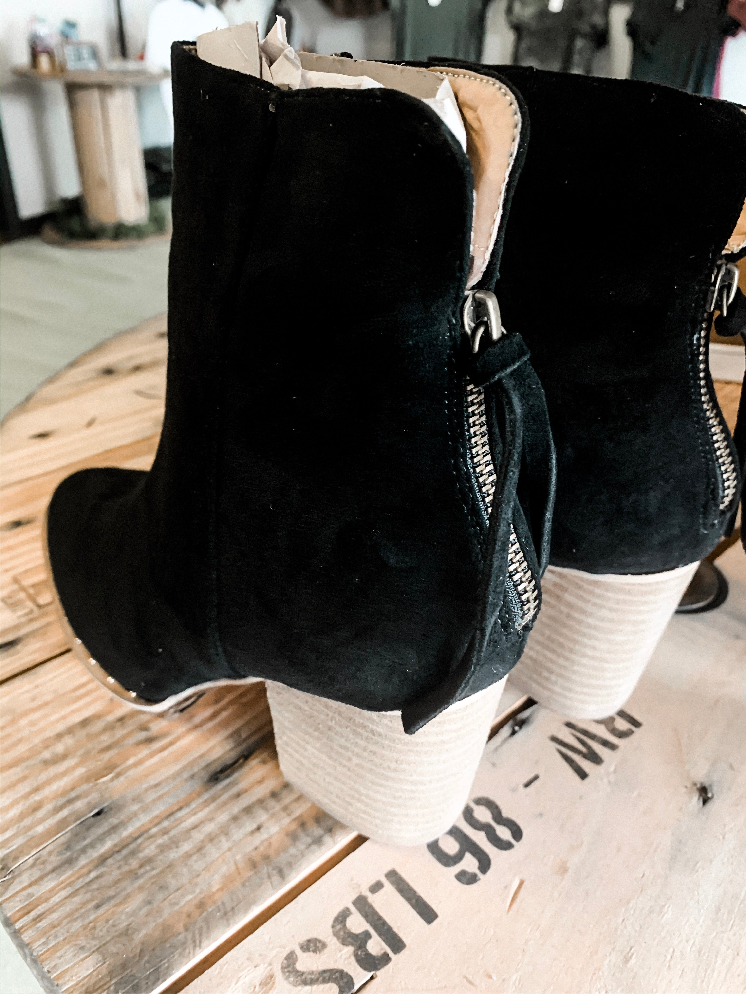 Weslee Booties (Black)