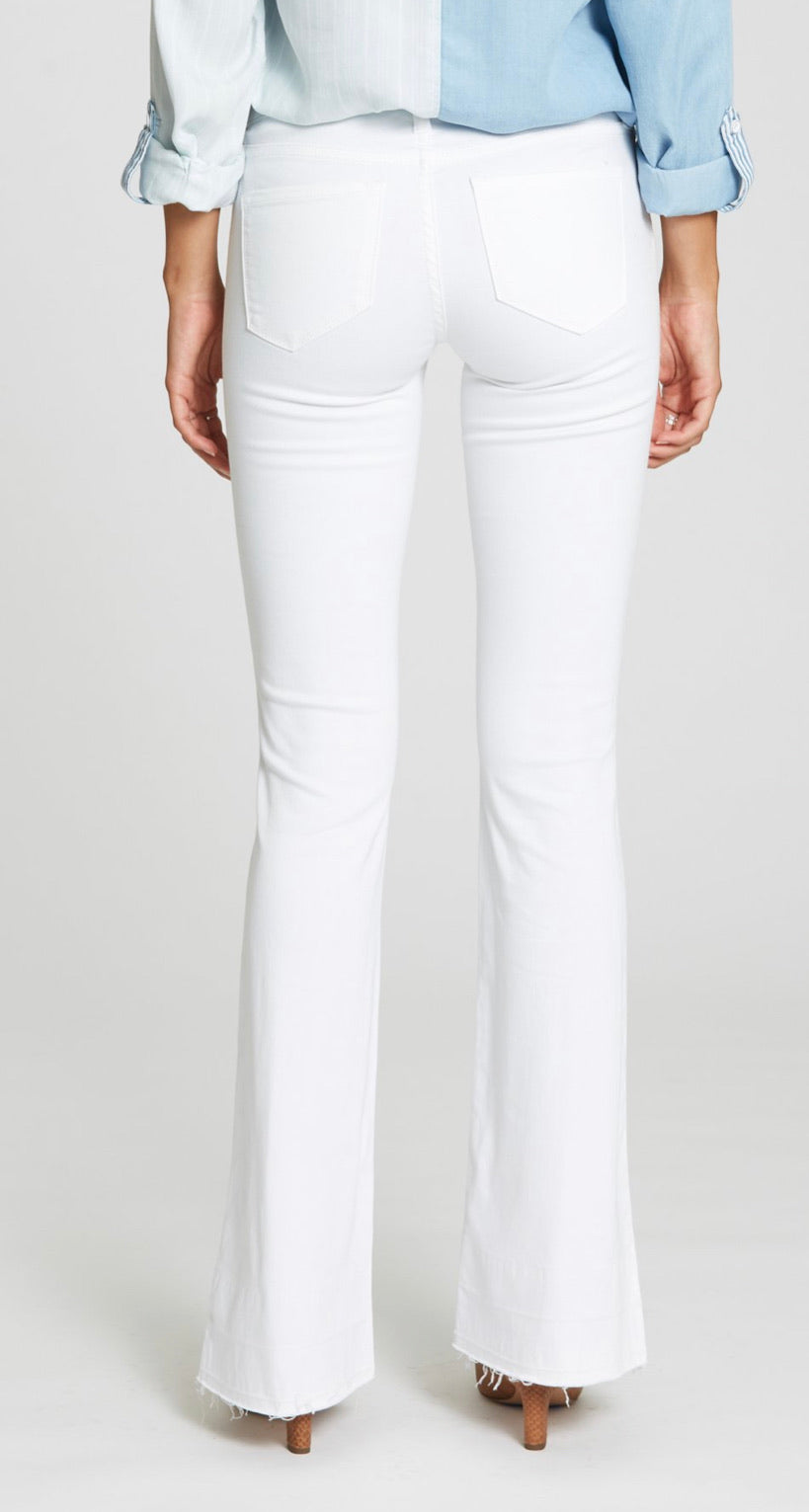 Optic White Jean