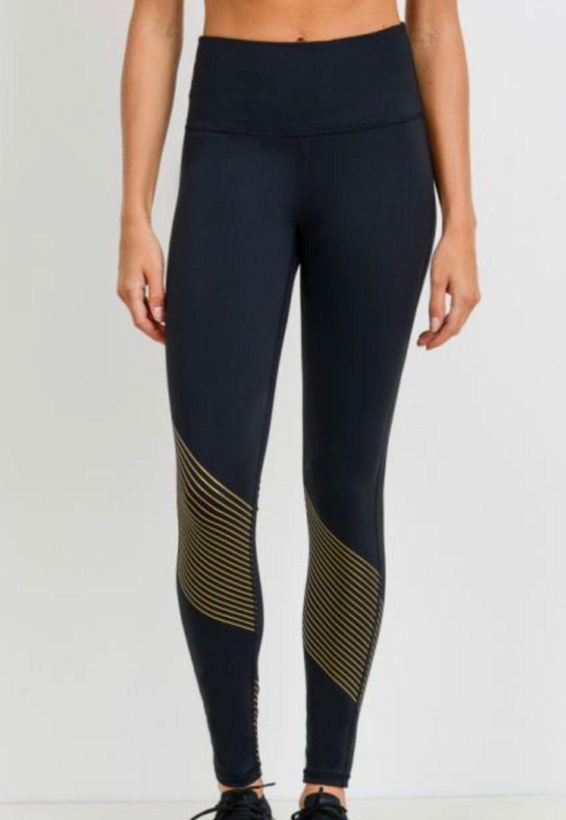 Blades of Gold leggings
