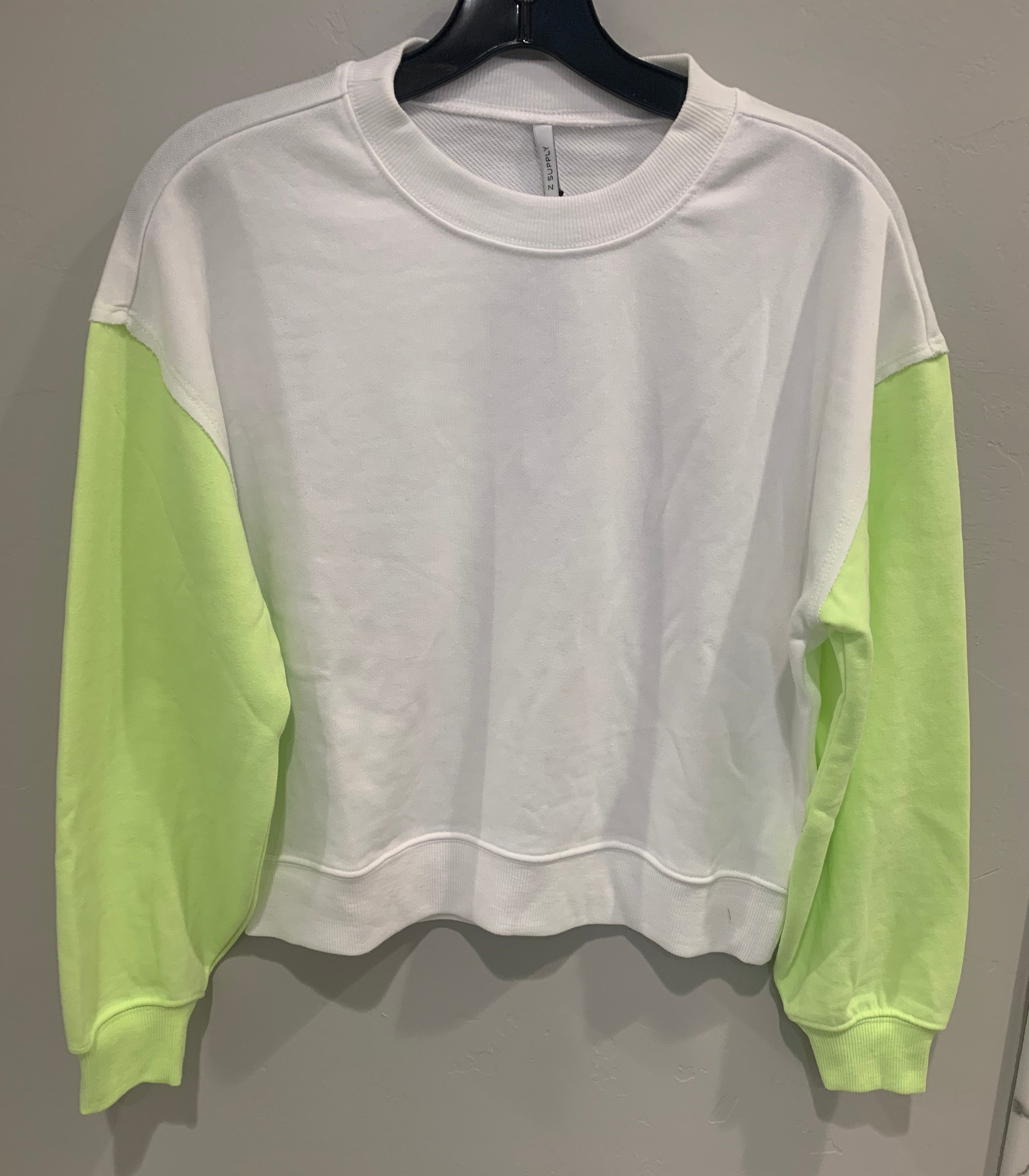 Neon Lime Color Block