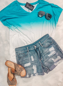 Ombre Casual Shirt