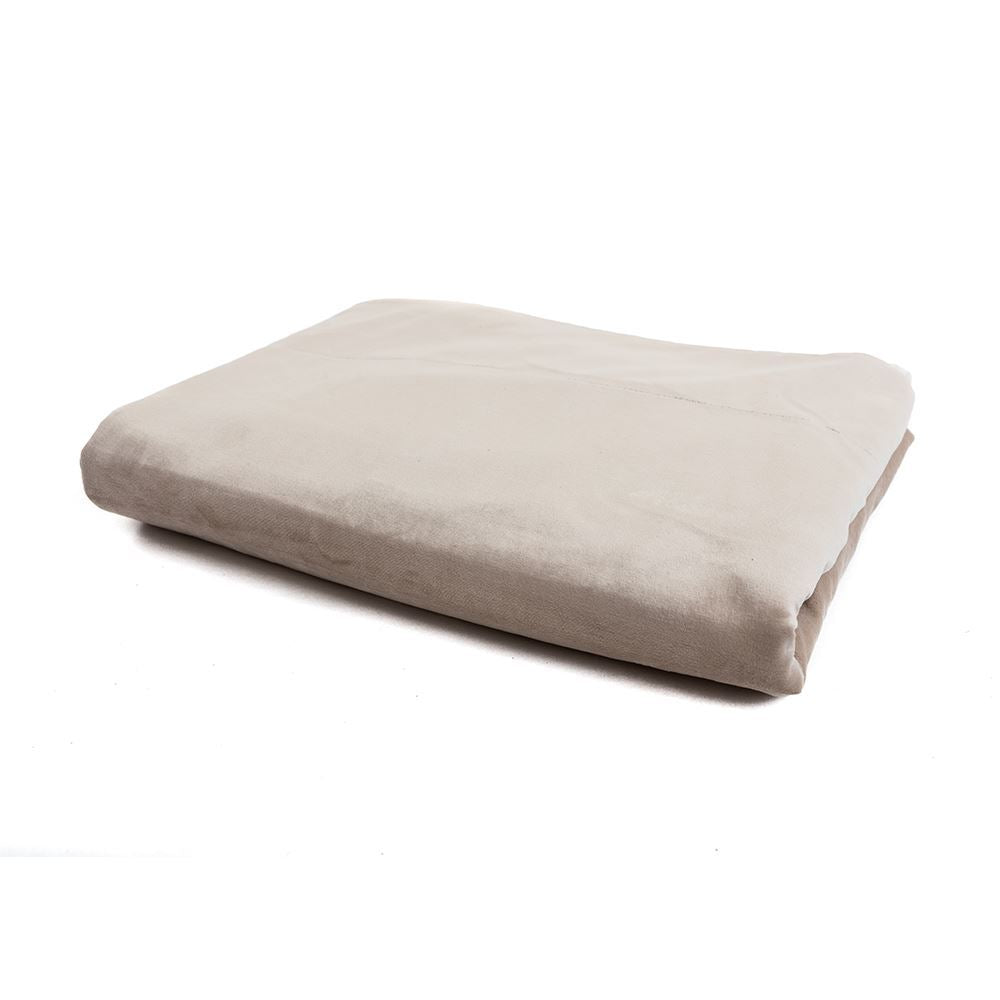 Dark Cream Soft Throw