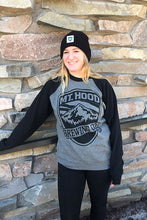 Load image into Gallery viewer, MHBC Logo Sweatshirt - Black/Gray Raglan