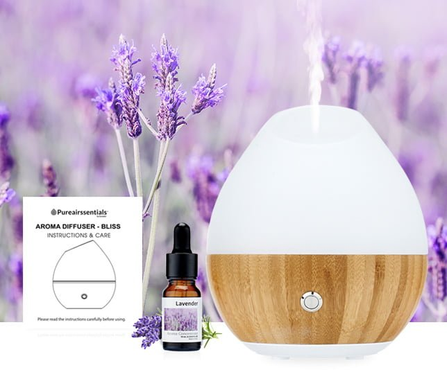 new shimmering real glass aroma diffuser