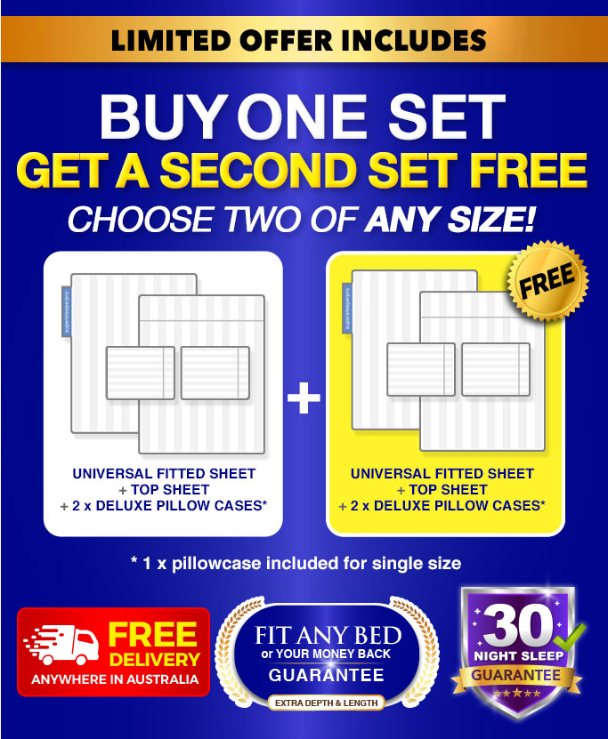 Buy One Set Get A Second Set Free, the Sheets on TV