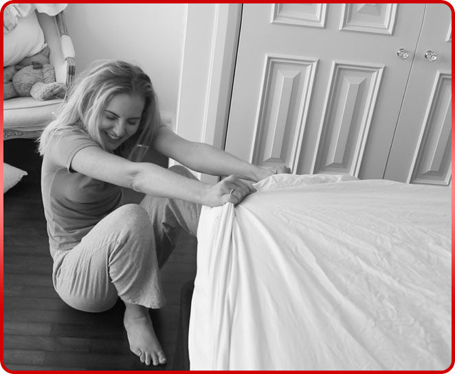 Forget struggling trying to get your regular old sheets on your bed