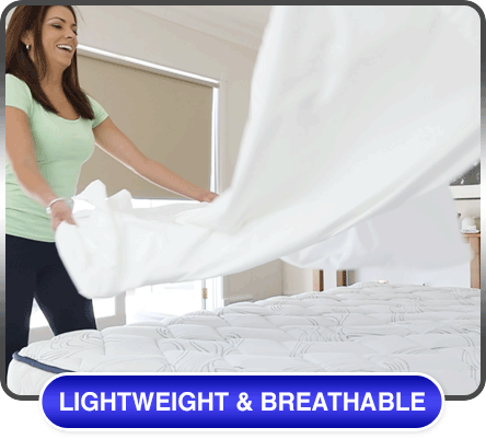 Lightweight and breathable
