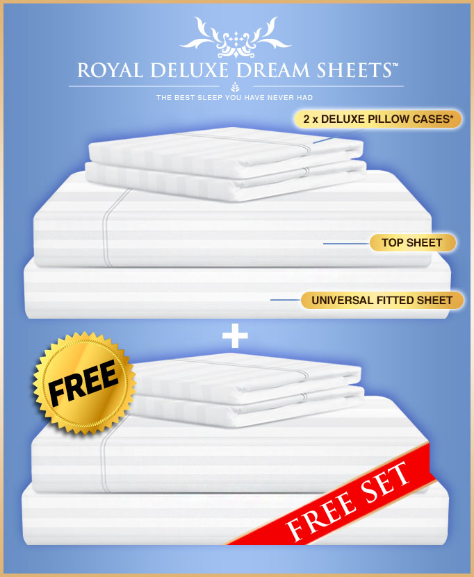 Royal Deluxe Dream Sheets, Bed sheets on TV