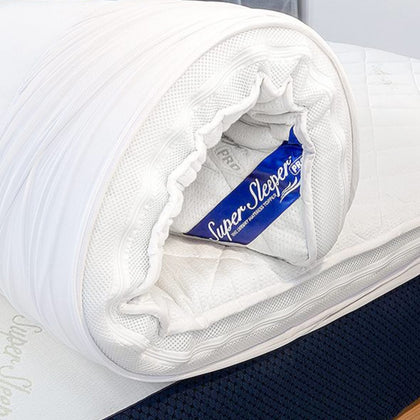 The Best Selling Mattress topper on TV - Make your old bed feel like new! Get 2 FREE Pillows + FREE Delivery