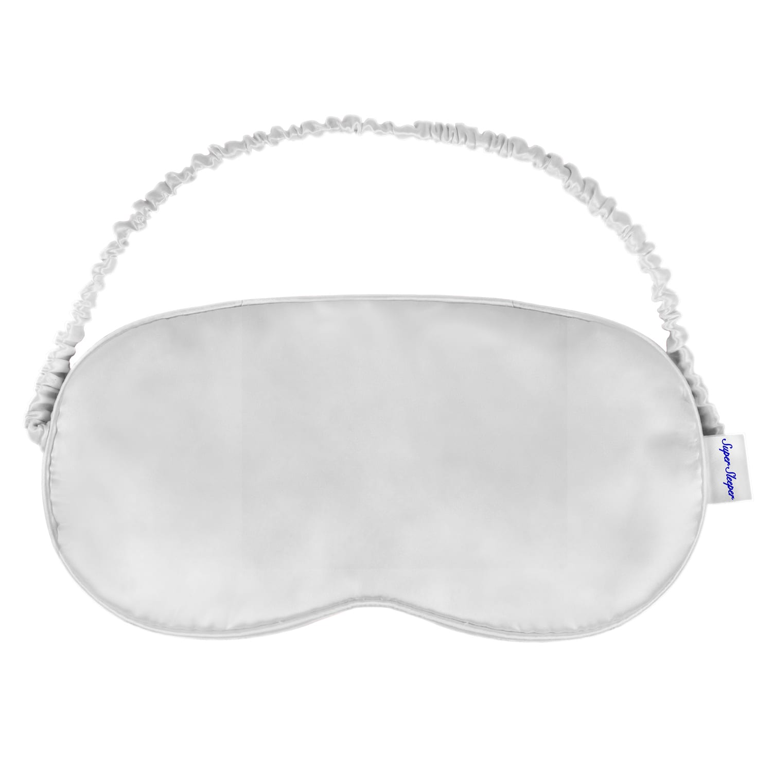 Silver Pearl Youth Silk Pillow Eye Mask 100% Mulberry Silk