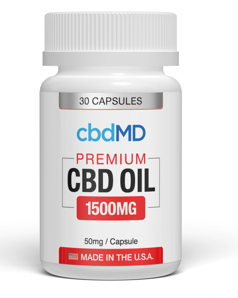 CBD MD Capsules (1000mg & 1500mg)