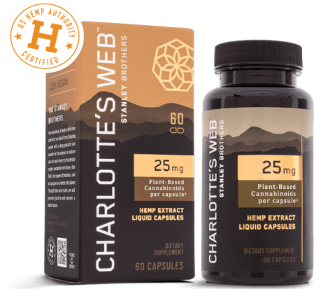 Charlotte Web 25MG  Oil Liquid Capsules