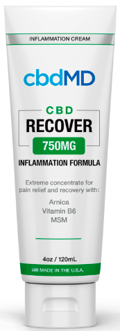 CBD MD Recover Cream (750mg & 1500mg)