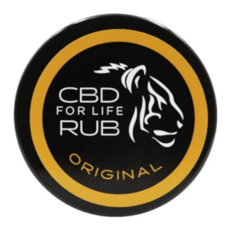 CBD For Life - Pure CBD Rub (  Relaxing Lavender ,  Pain Relief Lemongrass, Original )