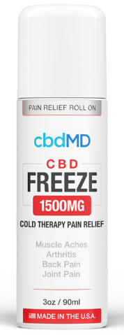 CBD MD Freeze Pain Relief 1500mg