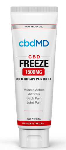 CBD MD Freeze Pain Relief  Squeeze Tube 1500mg