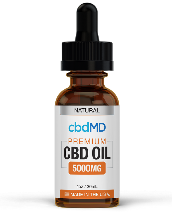 CBD MD Tincture (5000mg) - Natural & Berry