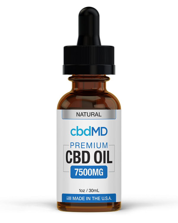 CBD MD Tincture (7500mg) - Natural & Berry Flavor