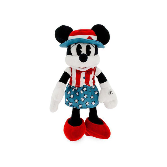 Disney Minnie Mouse Americana Plush – Small – 11''