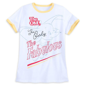 Disney Shirt for Women - Dumbo - The One, The Only, The Fabulous