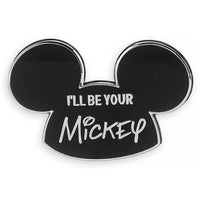 "Disney ""I'll Be Your Mickey"" Mouseketeer Ear Hat Pin"