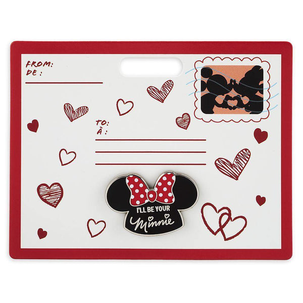 "Disney ""I'll Be Your Minnie"" Mouseketeer Ear Hat Pin"